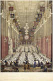 The Lord Mayor's Dinner - at Guildhall - the ninth day of November: 1829