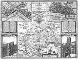 Map of Middlesex: 1611