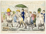 The loyal ducking or returning from the review on the fourth of June 1800