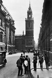 St Stephen Walbrook from the north: 20th century