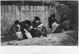 Poor women, St Giles Workhouse: 1884