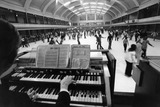 The organist at Richmond Skating rink: 20th century