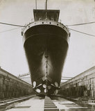 SS Euripides, King George V dry dock: 1921
