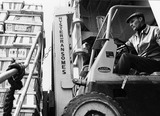 Fork Lift Truck driver, P Shed, Millwall Docks: 1967