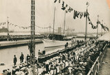 Opening King George V Docks: 1921