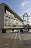 The Royal Festival Hall and The London Eye; 2009