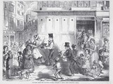 Fetching home the Christmas dinner: 1848