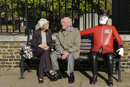 Chelsea Pensioner Sculpture; 2009