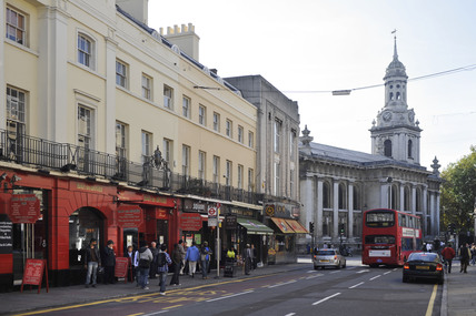 Greenwich town centre; 2009