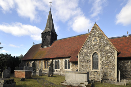 All saints Church, Foots cray; 2009