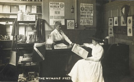 The Woman's Press Shop, 156 Charing Cross Road: c. 1911