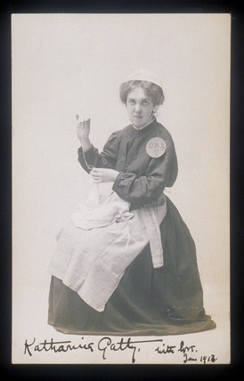 Photographic portrait of Katherine Gatty: 1913