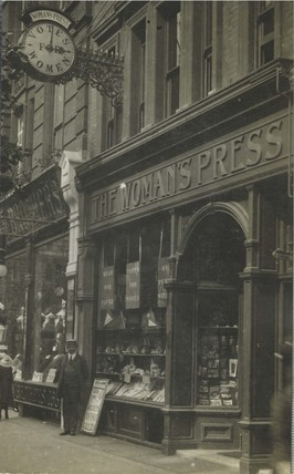 The Woman's Press Shop, 156 Charing Cross Road: 1910-1912