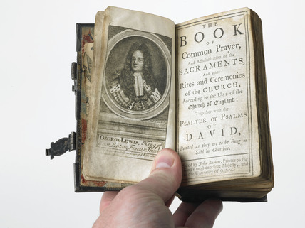 The book of common prayer; 1718