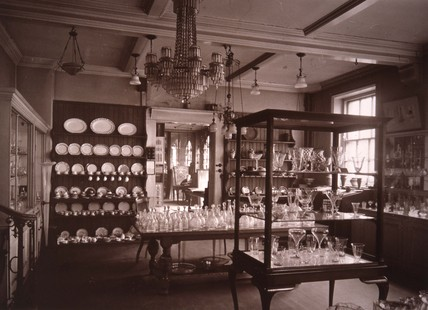 The Lower Whitefriars showroom; c 1920