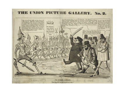 The Union Picture Gallery, the Tailor's Campaign 1834