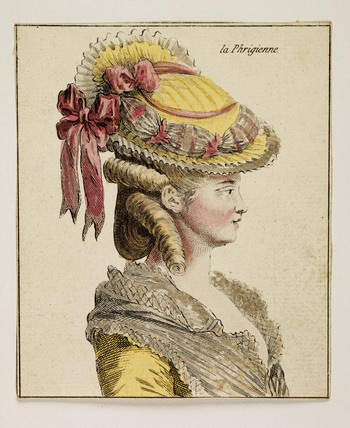 A women's head and shoulders; 1778