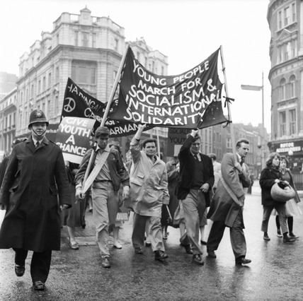 May Day protest: 1959
