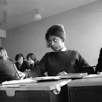 Jamaican student at Stockwell Manor Comprehensive School: 1963