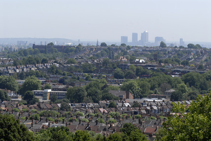 The view from Alexandra Palace; 2009
