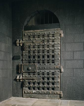 The Debtorsu0027 Door Newgate Prison. & The Debtorsu0027 Door Newgate Prison. at Museum of London