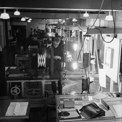 Photo engraving  at the London College of Printing: 1965