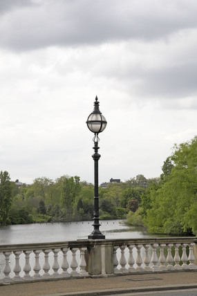 View over the Serpentine in Hyde Park; 2009