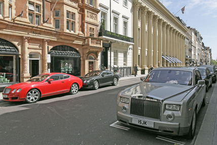Albemarle Street in Mayfair; 2009