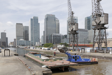 The South Quay West  India Dock; 2009
