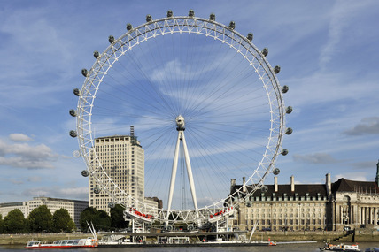 The London Eye; 2010