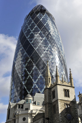 The Gherkin or the Swiss Re Building; 2010