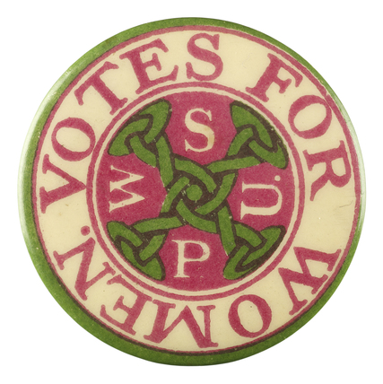 Votes for Women badge: c.1910
