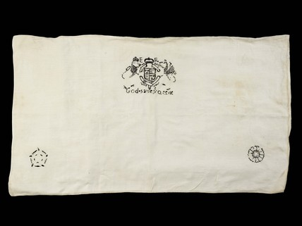 Pillow cover: 1558-1603