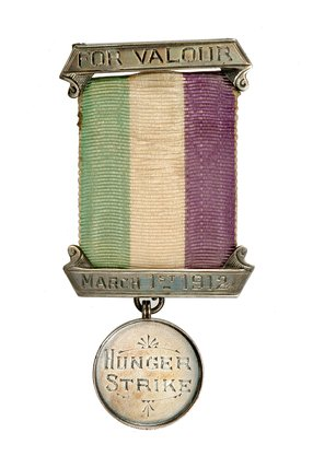 Holloway medal presented to Emmeline Pankhurst:1912