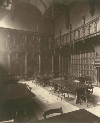 Charterhouse, Great Hall: 1880.