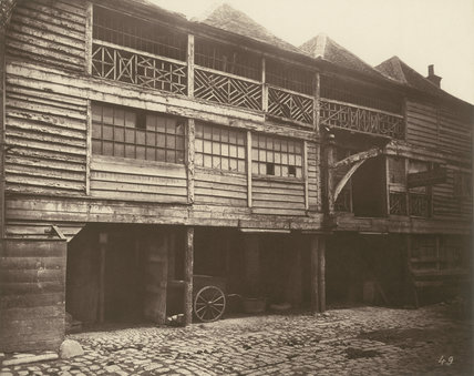 King's Head Inn yard, Southwark: 1881