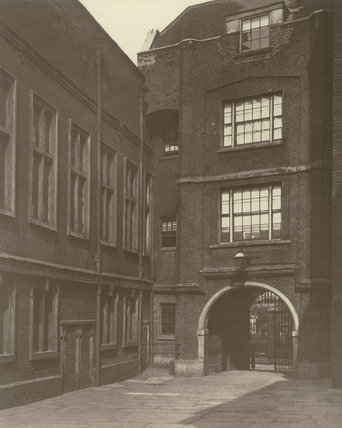 Sion College, London Wall: 1881
