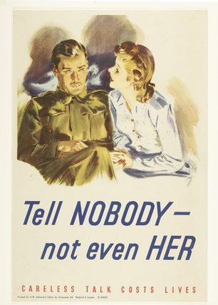 Tell nobody - not even her; 1940-1945