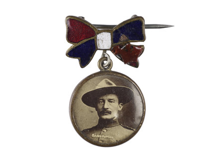 Portrait of Major-General Robert Baden-Powell; 1900