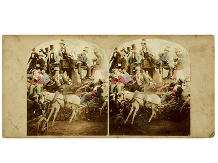 Returning from the Derby; c.1860