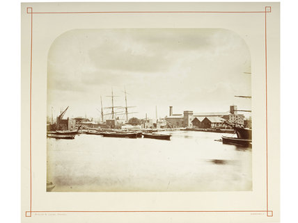 The Surrey Commercial Docks: 1876