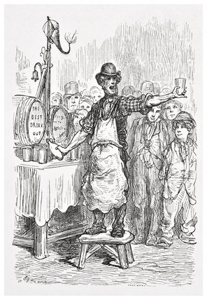 The ginger beer man: 1872