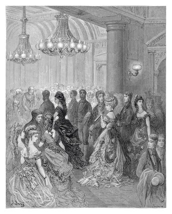 A ball at the Mansion House: 1872