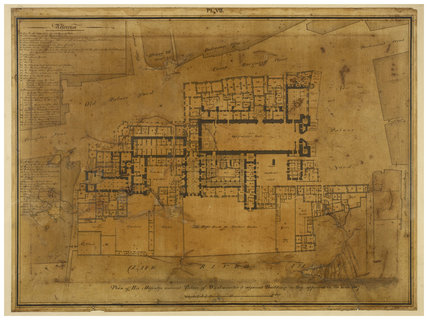 Plan of the Palace of Westminster: 1807