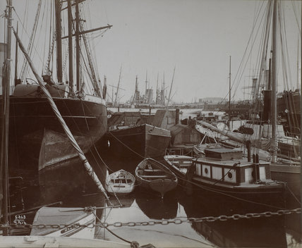South West India Dock: 1914