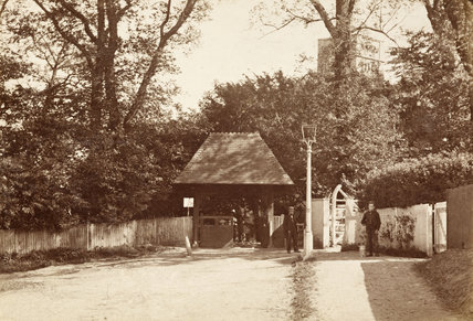 East Barnet Church, c.1870