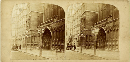 Westminster Hall at the Houses of Parliament; c.1860
