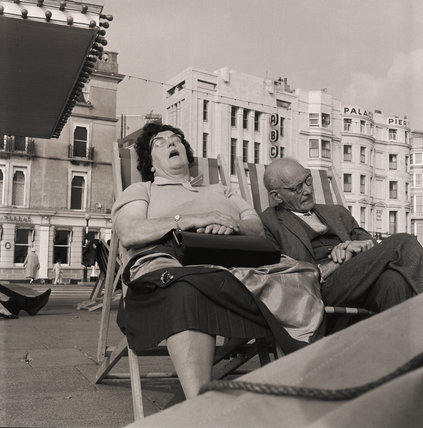 Sunbathing, Brighton: 1963