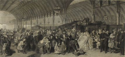 The Railway Station: 1866