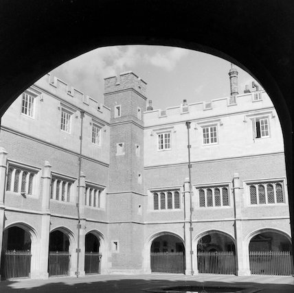 The Cloisters at Eton College; 1962